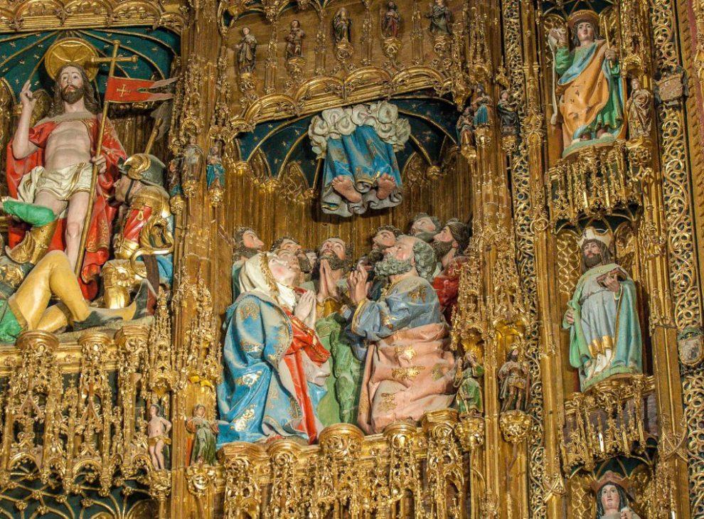 Himmelfahrt - Retabel der Hauptkapelle - Kathedrale Toledo