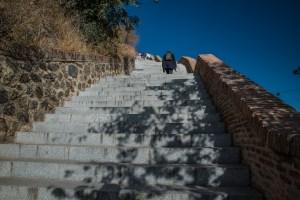 Treppe zu Plaza de Miradero - Toledo