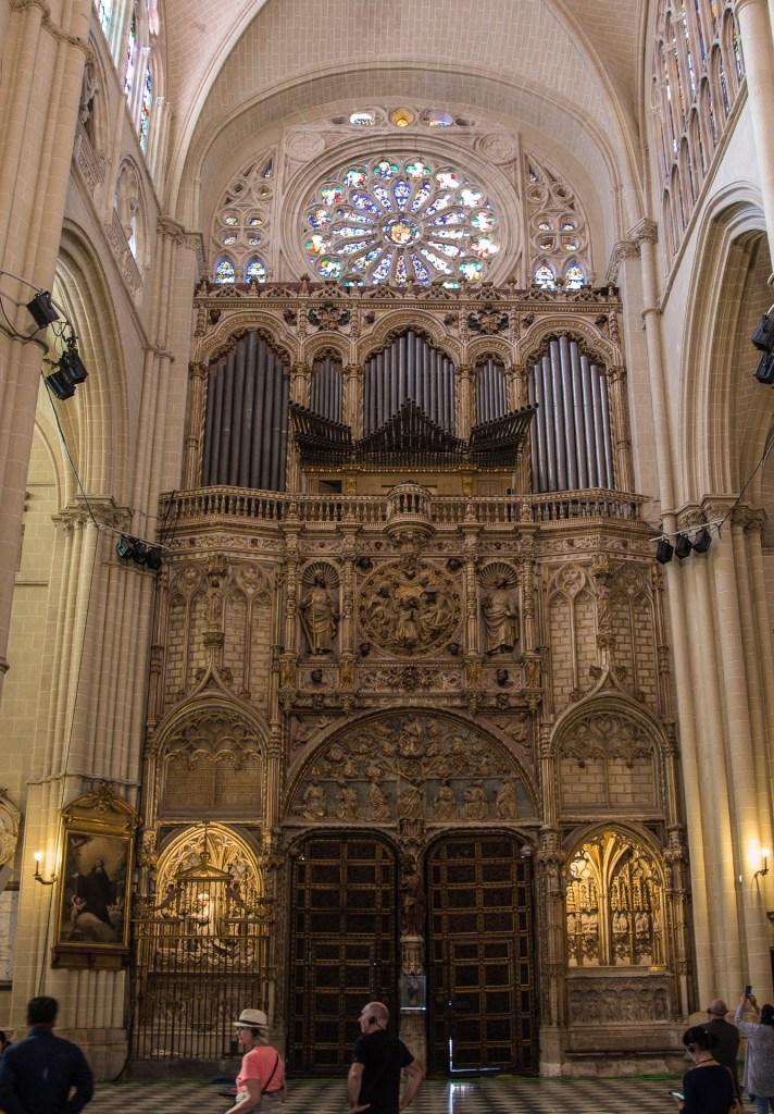 Löwentor - Kathedrale Toledo