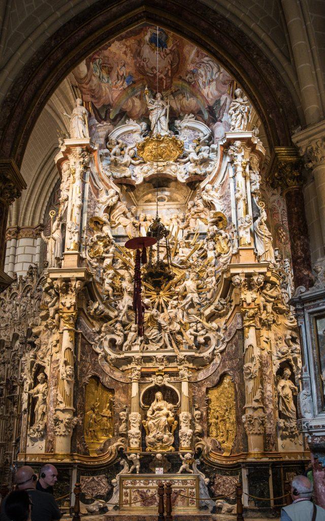 Ostansicht El Transparente - Kathedrale Toledo