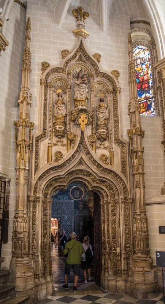 Portal zur Antesala - Kathedrale von Toledo