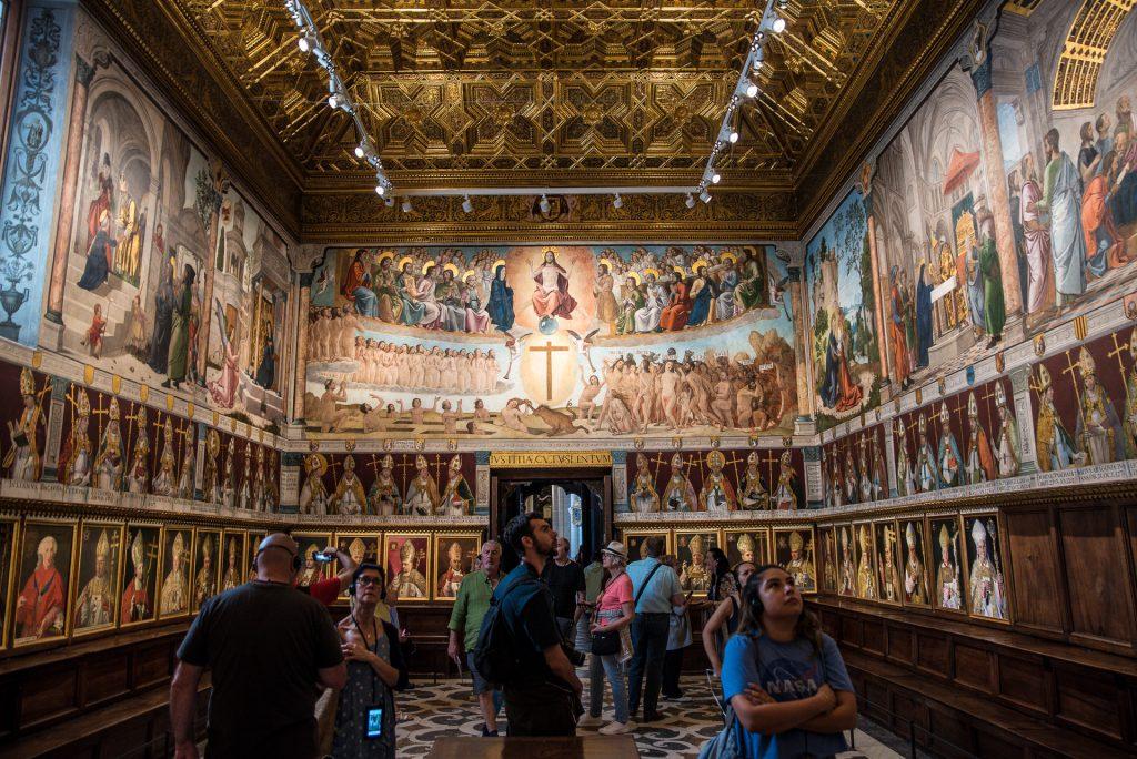 Westseite - Kapitelsaal - Kathedrale von Toledo