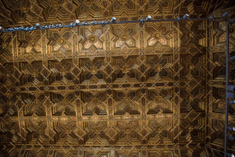 Kassettendecke - Kapitelsaal - Kathedrale von Toledo