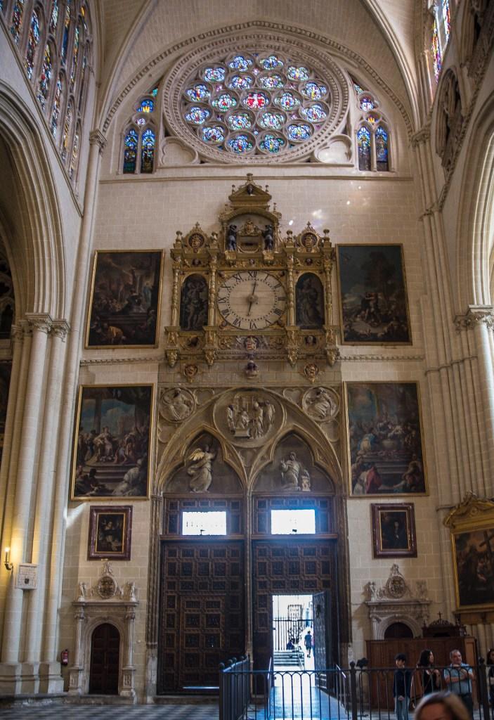 Uhrentor - Kathedrale Toledo