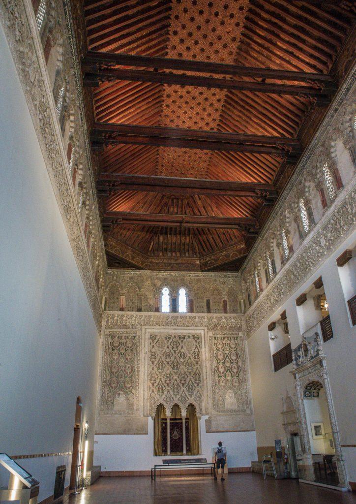 Große Halle - Synagoga del Tránsito Toledo