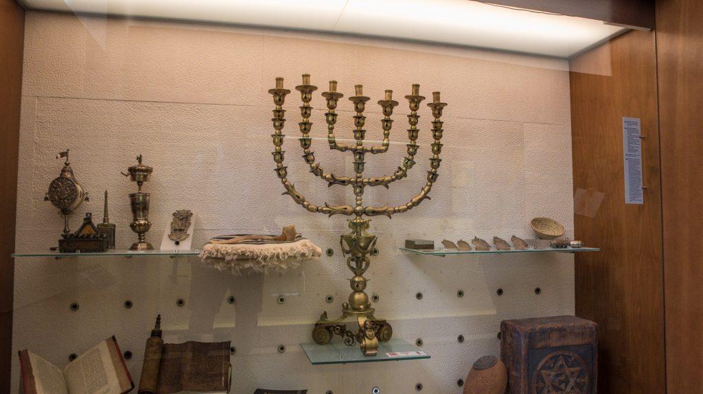 Menora - Sinagoga del Tránsito Toeldo