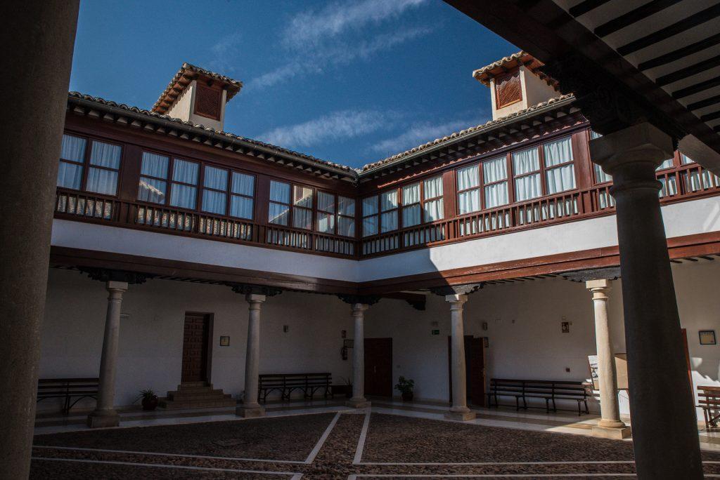 Innenhof  Palacio de los Condes de Valdeparaiso - Almagro