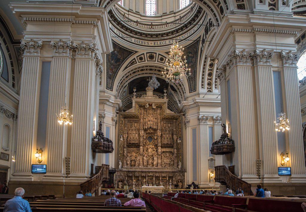 Hauptaltar - Basilica de Nuestra Señora de Pilar - Zaragoza