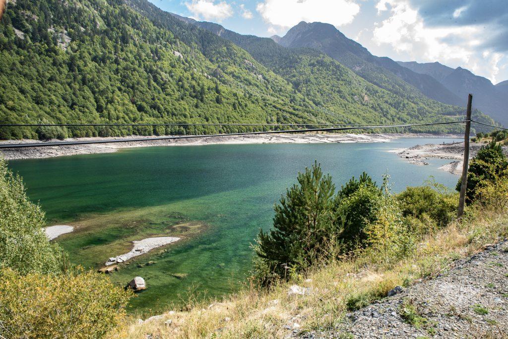 Pyrenäen Embalse de Baserca