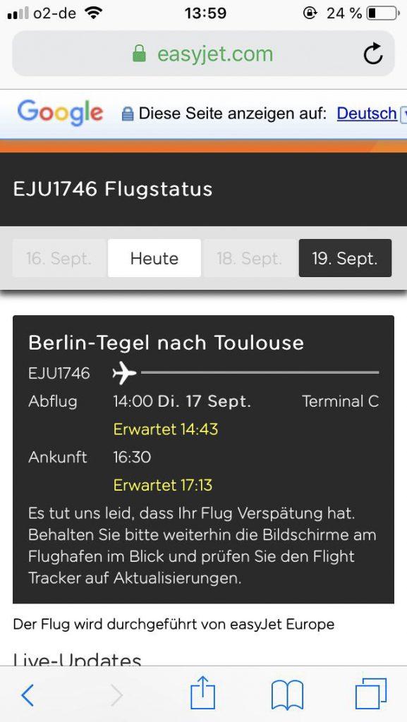 Flugstatus