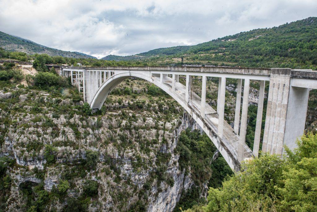 Georges du Verdon - Pont de l'Artuby
