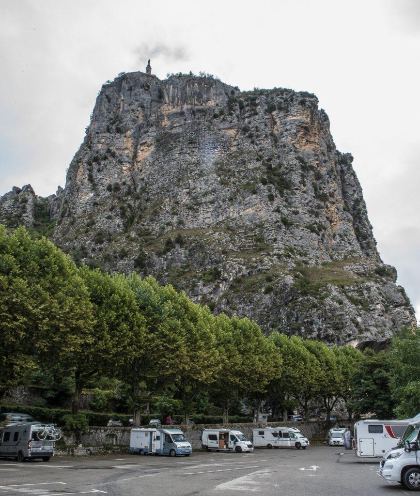 Castellane - Wohnmobilestellplatz