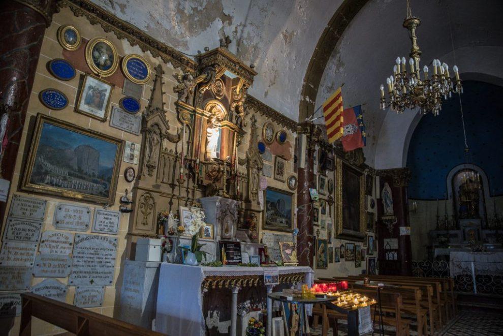 Castellane - Chapelle Notre-Dame-du-Roc