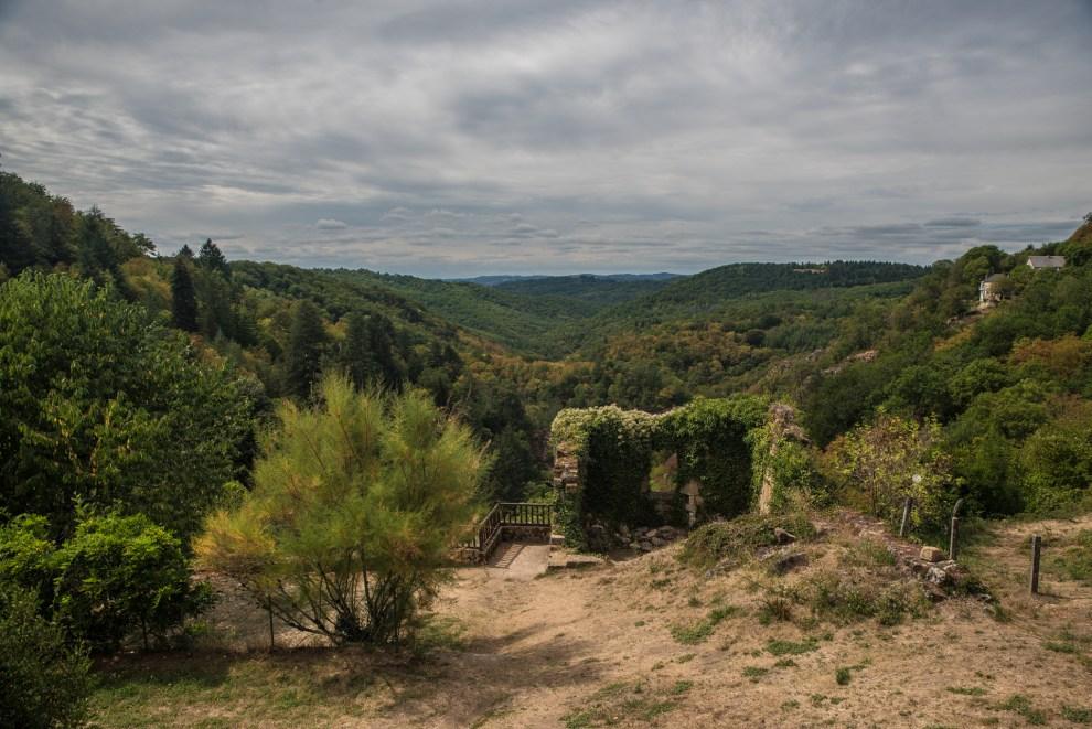 Blick in Tal der Montane - Gimel