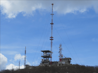 Predajnik Jastrebac - Pokrivanje Južne Srbije