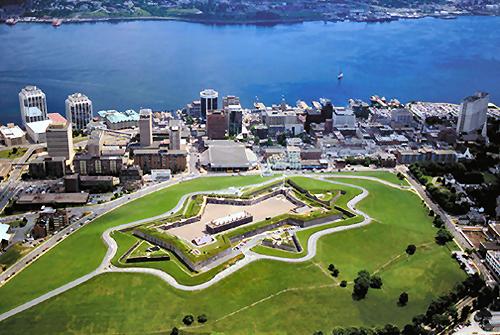 La citadelle et la ville d'Halifax