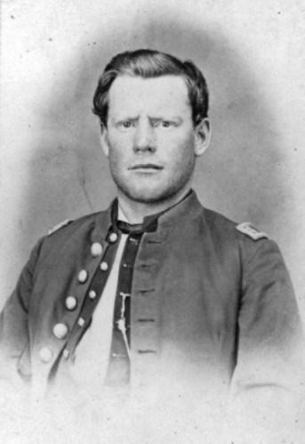 Captain Silas Soule 1863 or 1864 photo: NPS/Denver Public Library