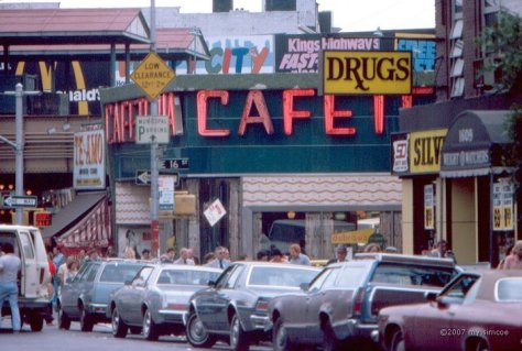 Dubrow's cafeteria, Kings Highway, Brooklyn. Source: Wikipedia