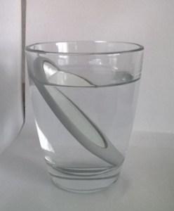 Und hier das Glasvon der Seite.