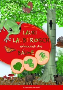 Lauri Laubfrosch erkundet die Bäume.