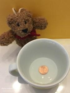Die versteckte Münze
