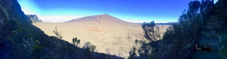 Panorama sur le Piton de la Fournaise