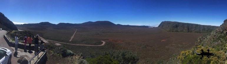 Panorama sur la Plaine des Sables