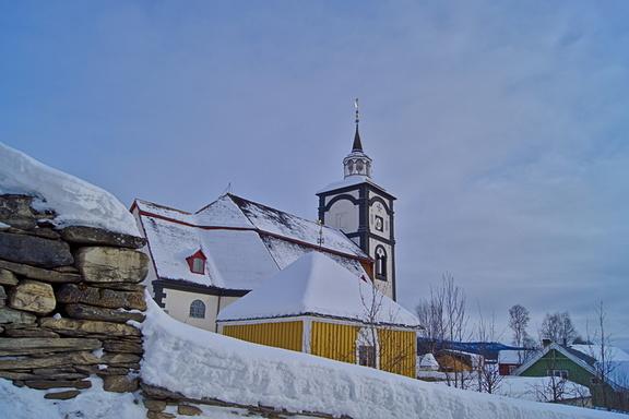 Røros Kirche , Røros martnan