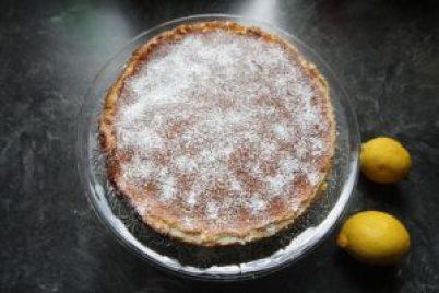 Zitronen-Cheesecake