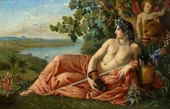Dionysos Antik yunan Mitolojisinde Şarabın ve Deliliğin Tanrısı olarak geçer.