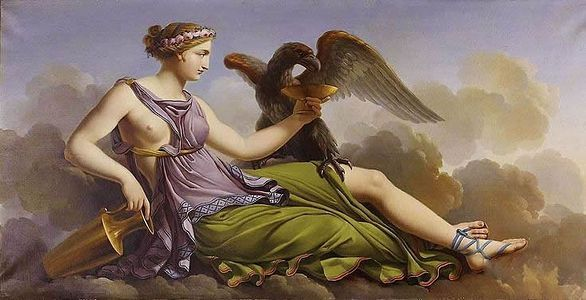 Hera, Tanrıların Kralı Zeus'un Eşidir.