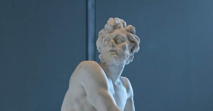 Hephaistos Heykeli