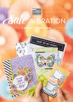 Stampin' Up! 2019 Sale-A-Bration Brochure - FREE Craft Materials