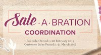 Sale-A-Bration Coordination Limited Time Release Craft Products from Mitosu Crafts