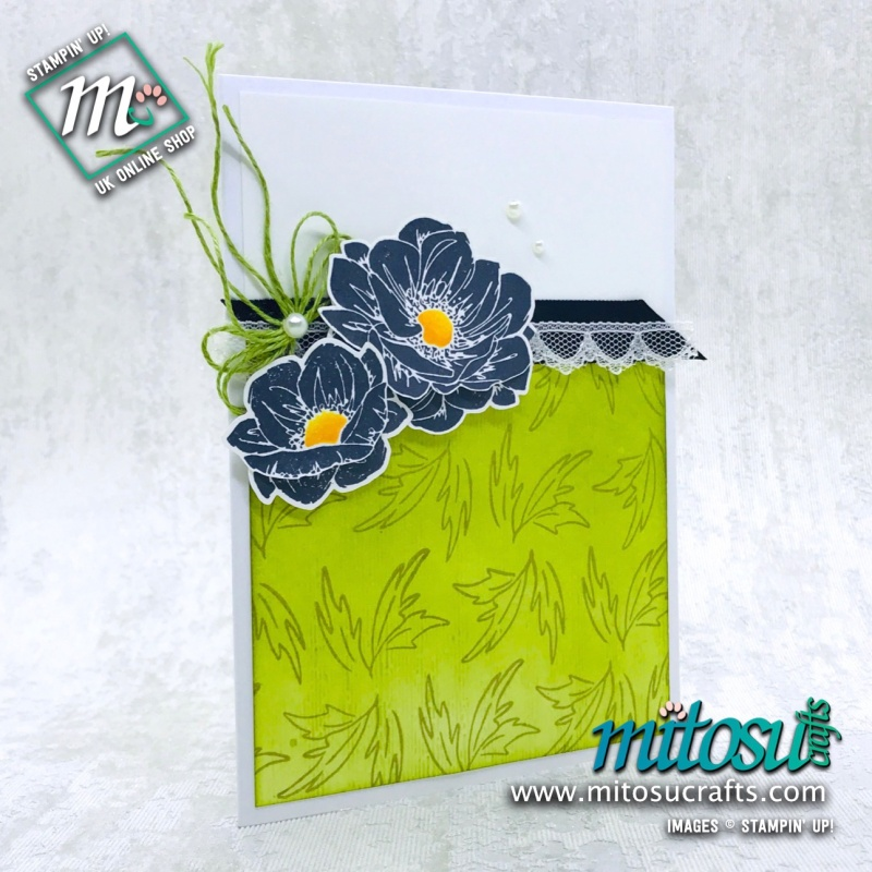 Floral Essence Stampin' Up! Card Idea from Mitosu Crafts
