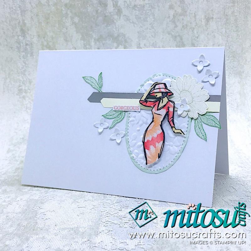 Beautiful You Stamp With Daisy Lane Mitosu Crafts