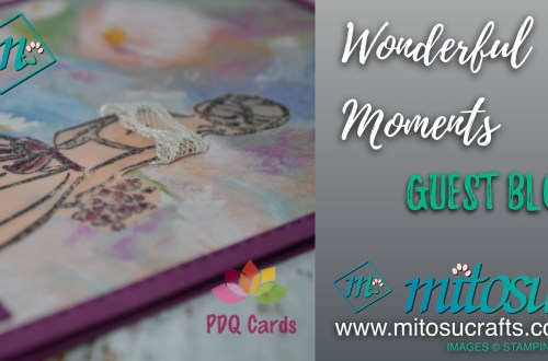 Wonderful Moments Stamp Set available from Mitosu Crafts