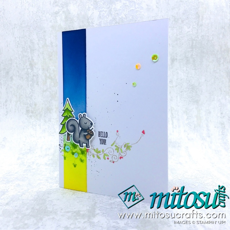 Alternative Cuckoo For You Card. Order Stampin' Up! cardmaking products from Mitosu Crafts