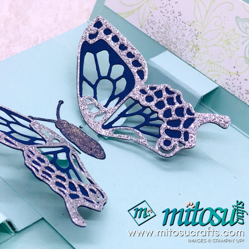 Gatefold Butterfly Pop Up Stampin Up Card from Mitosu Crafts