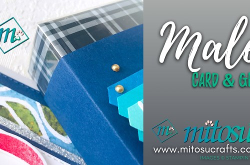 Stampin' Up! Male Card and Gift Ideas from Mitosu Crafts