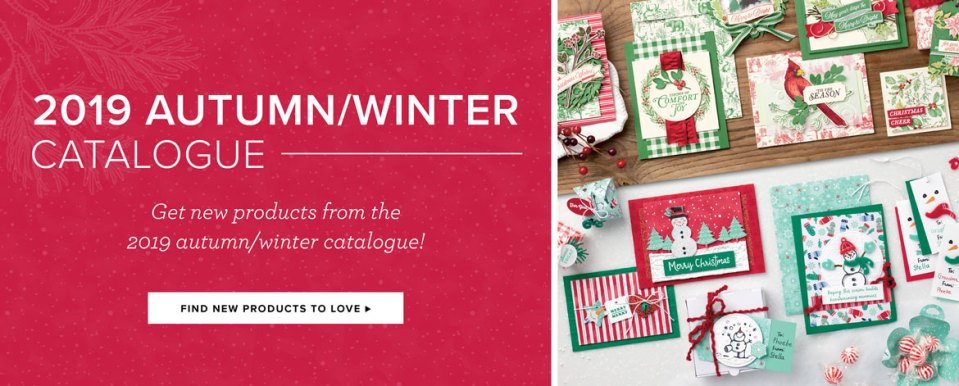 Stampin' Up! 2019 Autumn/Winter Catalogue available now from Mitosu Crafts