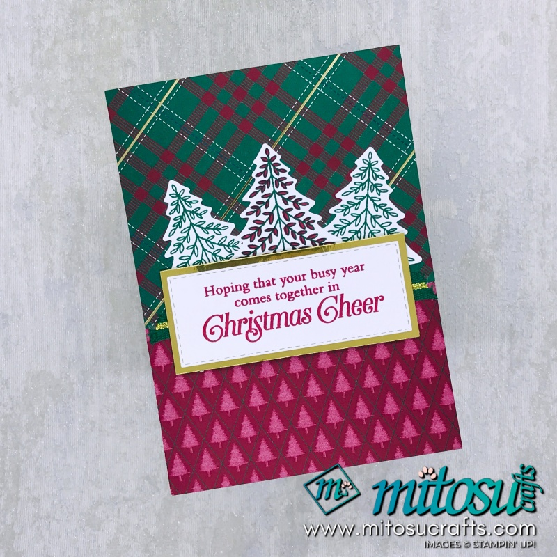 Wrapped In Plaid suite available from Mitosu Crafts 24/7 via our online shop.