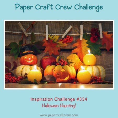 Halloween Haunting Paper Craft Crew Challenge #PCC354 from Mitosu Crafts