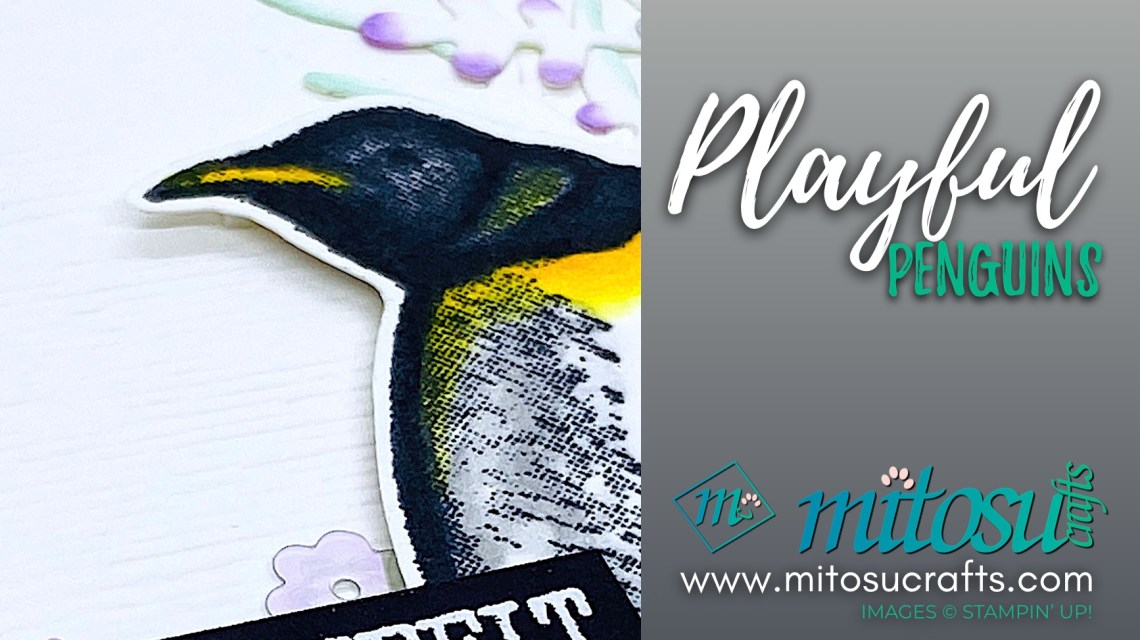 Playful Penguins Stampin Up! Card Ideas for Creating Kindness from Mitosu Crafts