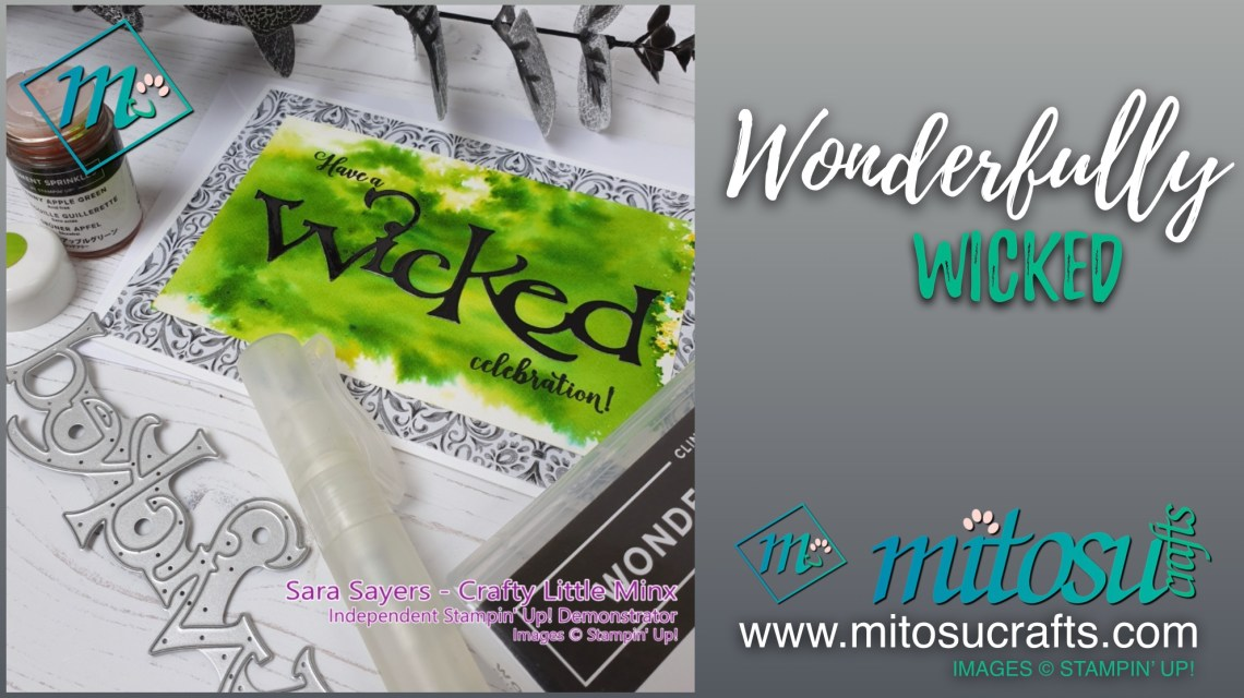 Wonderfully Wicked available from Mitosu Crafts 24:7