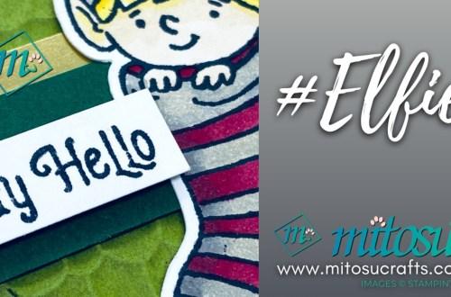 #Elfie Fancy Pop Up Card Holder for Creating Kindness Blog Hop from Mitosu Crafts