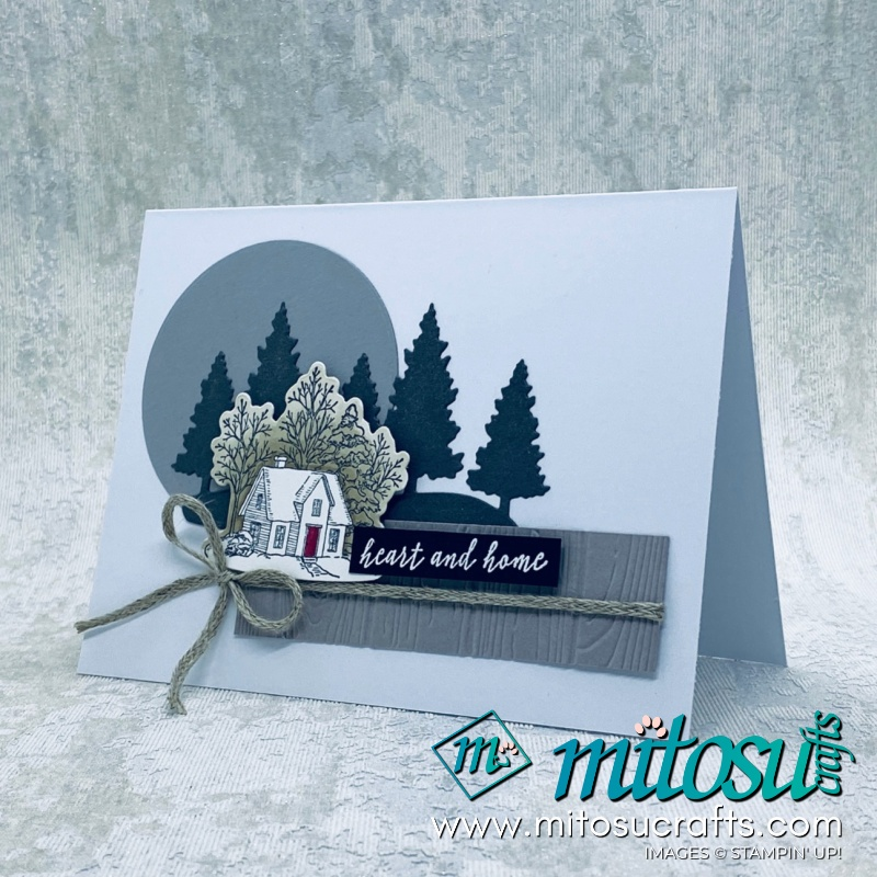 Still Scenes Card Stampin Up! Inspiration for Paper Craft Crew from Mitosu Crafts