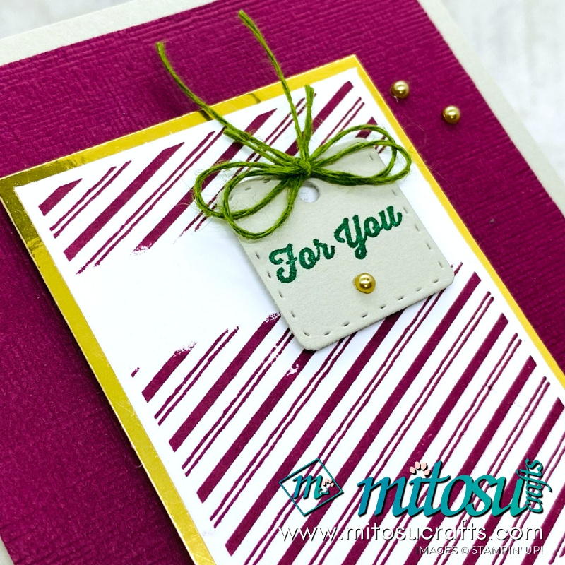 Tiny Keepsakes Card