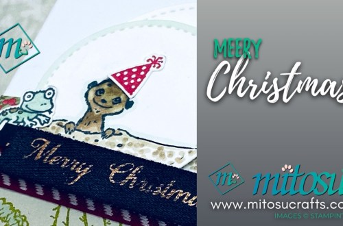 Gang's All Meer Christmas Card Inspiration from Mitosu Crafts