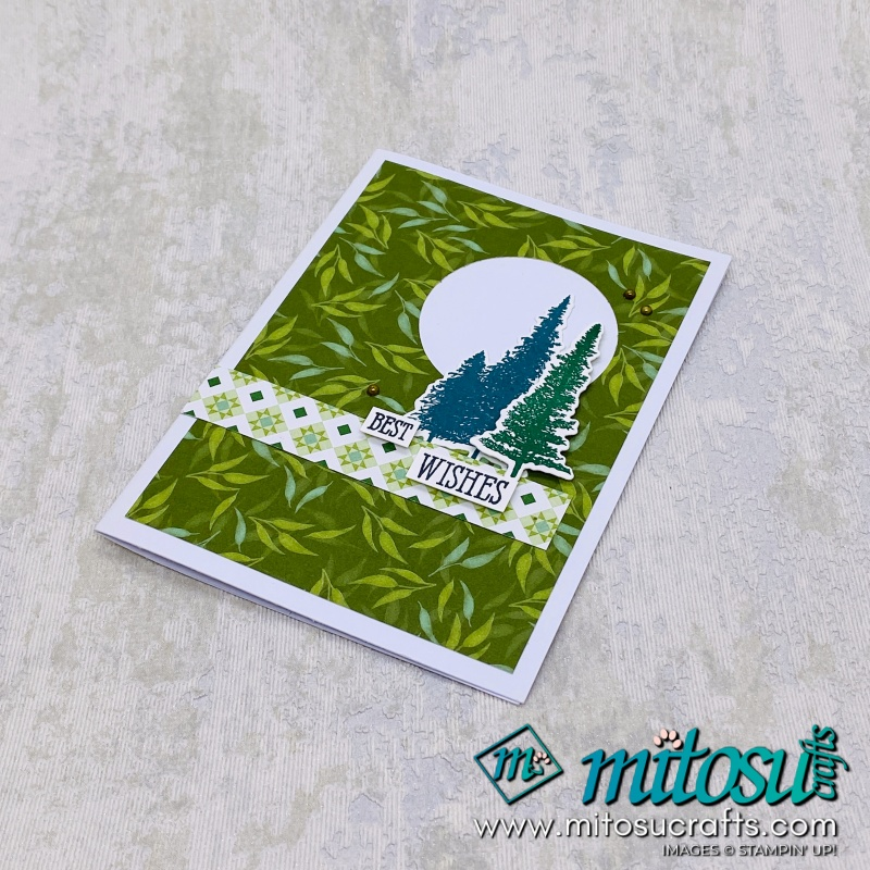 Mountain Air Cardmaking Class In Basingstoke with Mitosu Crafts